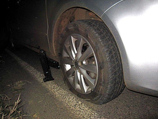 A Win, A Blown Tire and a Night The Universe Slowed Us Down