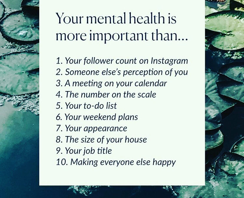 Simple Tips to Help Your Mental Health